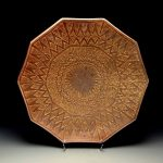Rick McKinney - Large footed platter