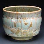 Rick McKinney Matte crystal bowl 001